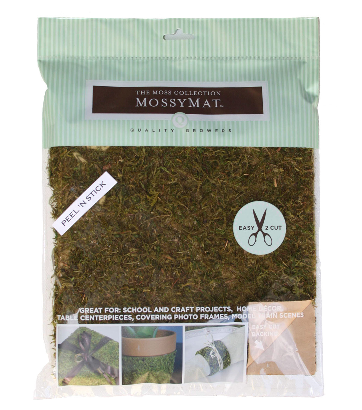 Moss Collection-Moss Mat Peel & Stick