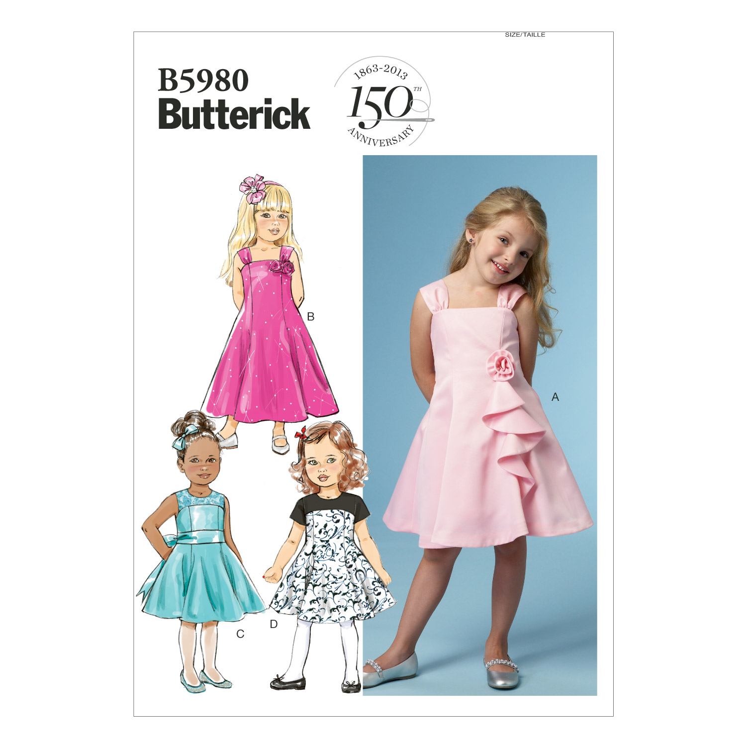 Butterick Child Special Occasion-B5980