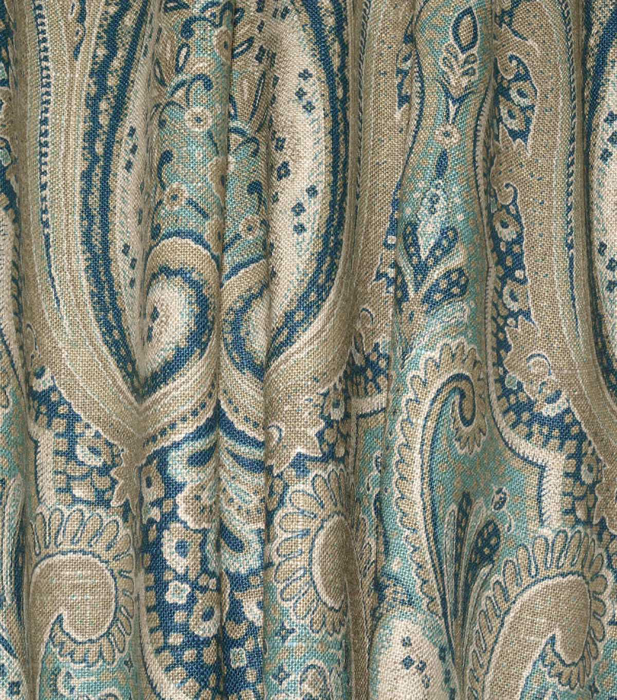 Waverly Upholstery Fabric 54\u0022-Set the Mood Indigo