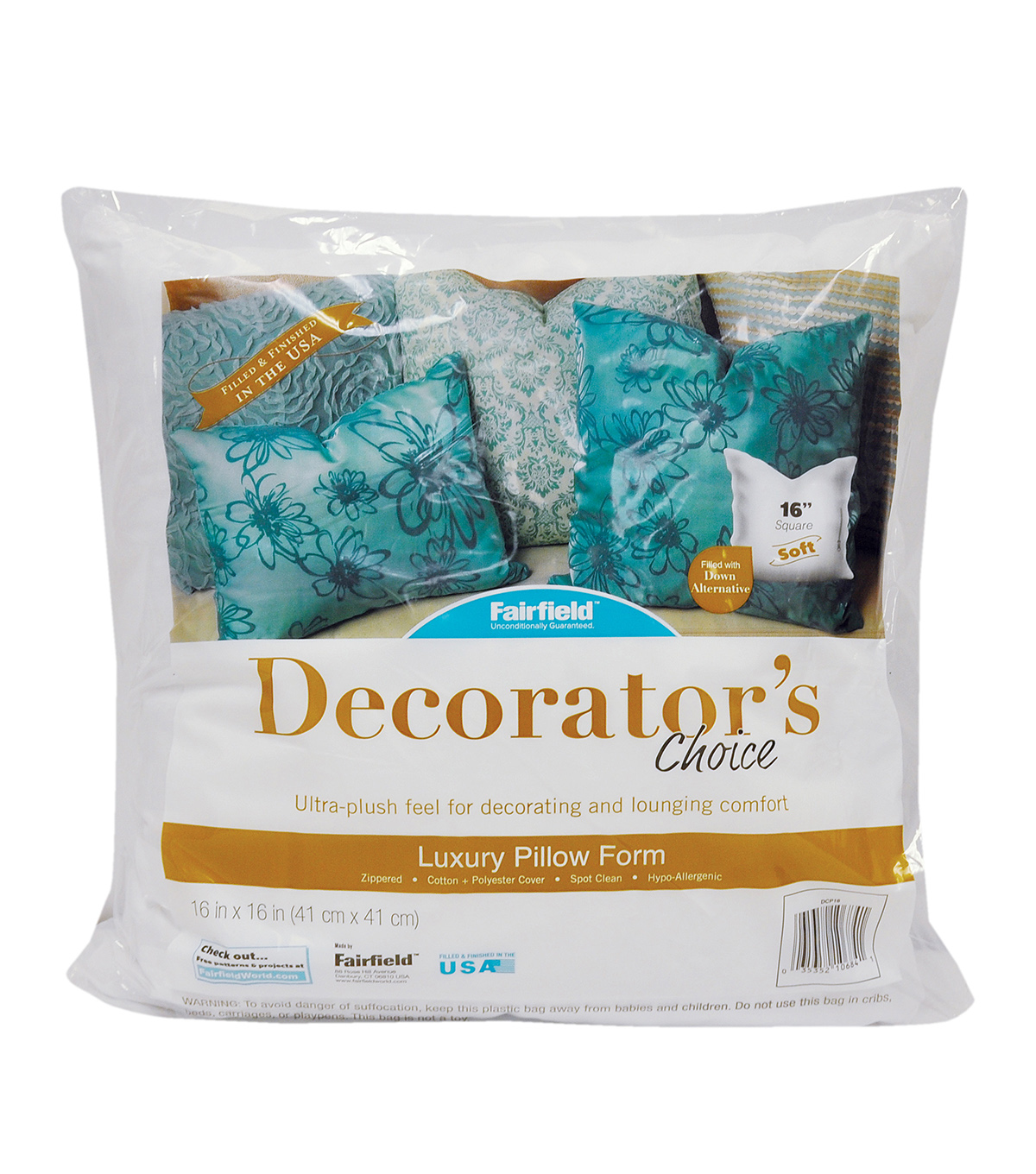 Decorator\u0027s Choice Pillow 16\u0022 x 16\u0022