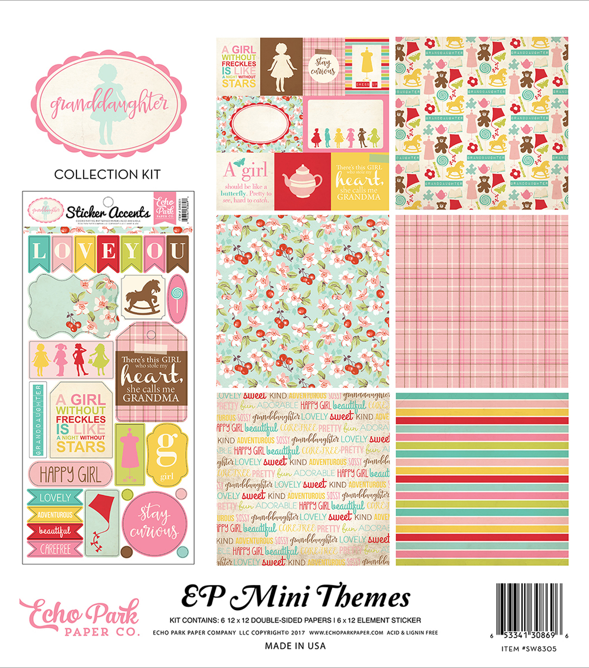 Collection Kit 12\u0022X12\u0022-Granddaughter