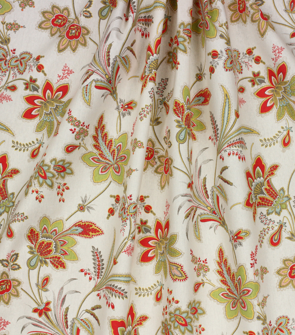 Home Essentials™ Print Fabric 45\u0027\u0027-Cream Baretta