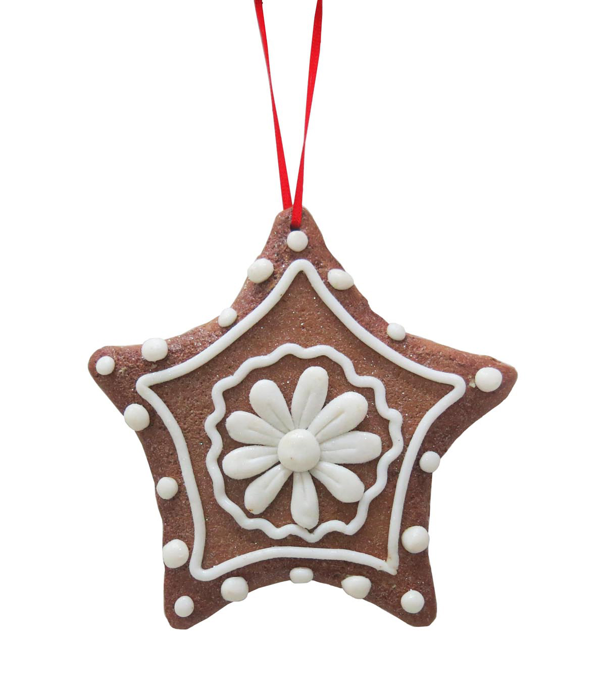Maker's Holiday Christmas Handmade Holiday Sugar Cookie Star Ornament