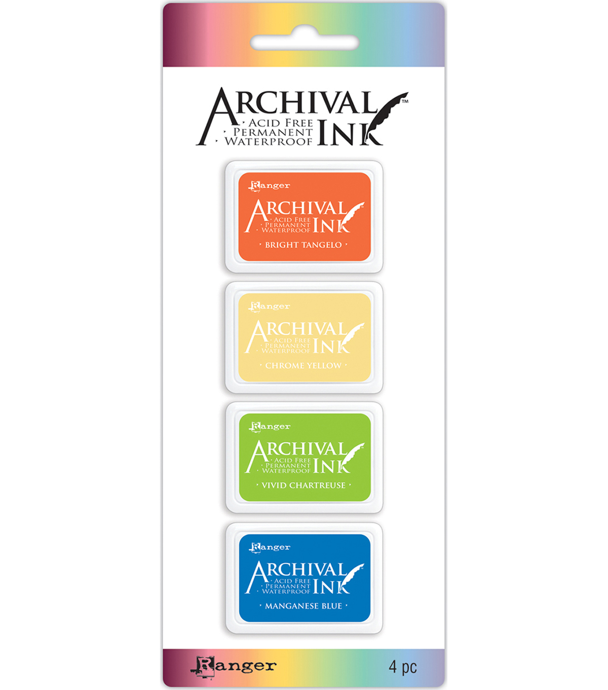 Archival Mini Ink Pad Kits-Kit 3