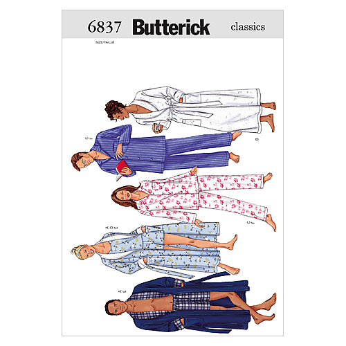 Butterick Adult Sleep & Lounge-B6837