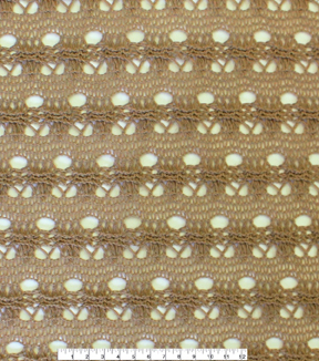 Knit Fabric 58\u0022-Tan