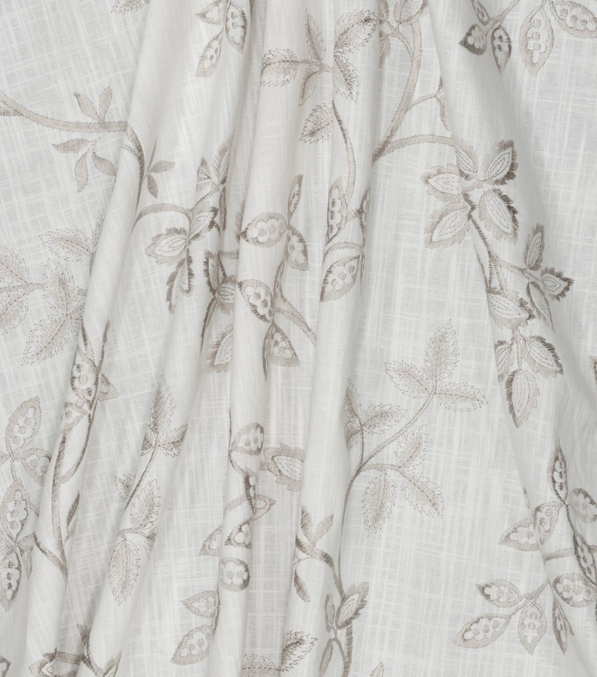 Jaclyn Smith Fabric 52\u0027\u0027-Stone Floral Vine