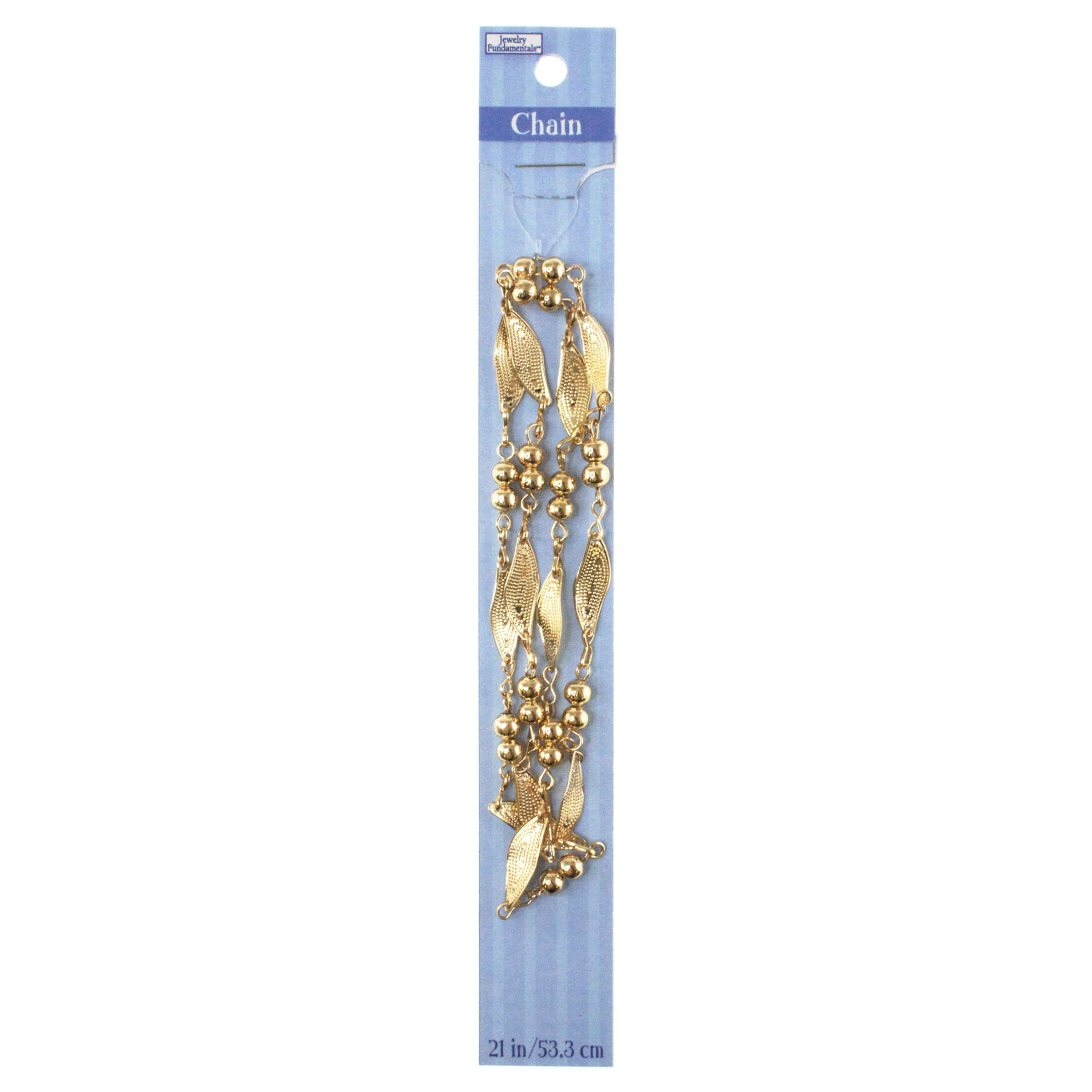 Jewelry Fundamentals 21 in. Chain-Pale Copper Waves