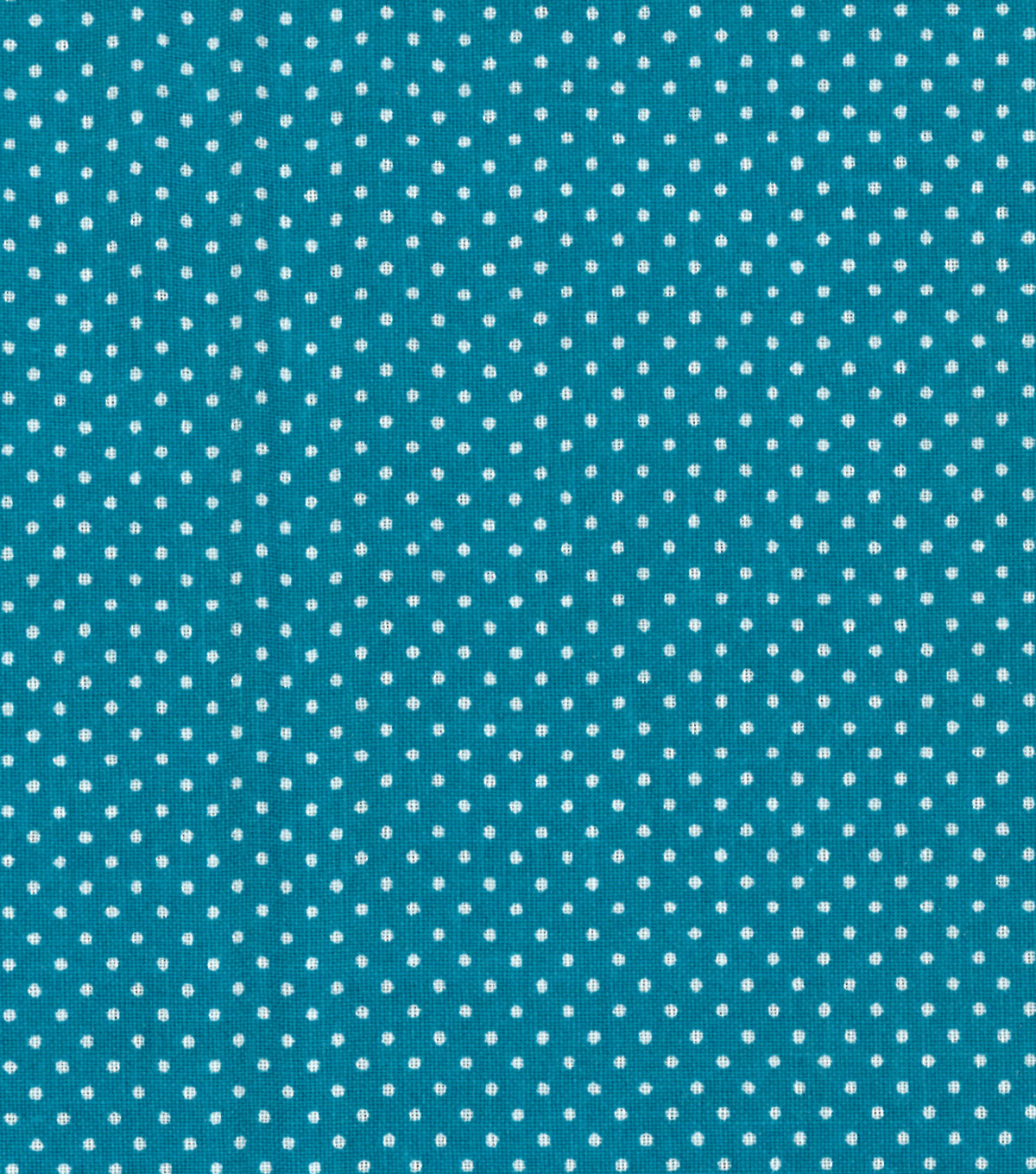 Quilter's Showcase™ Cotton Fabric 44''-Pin Dots on Turquoise