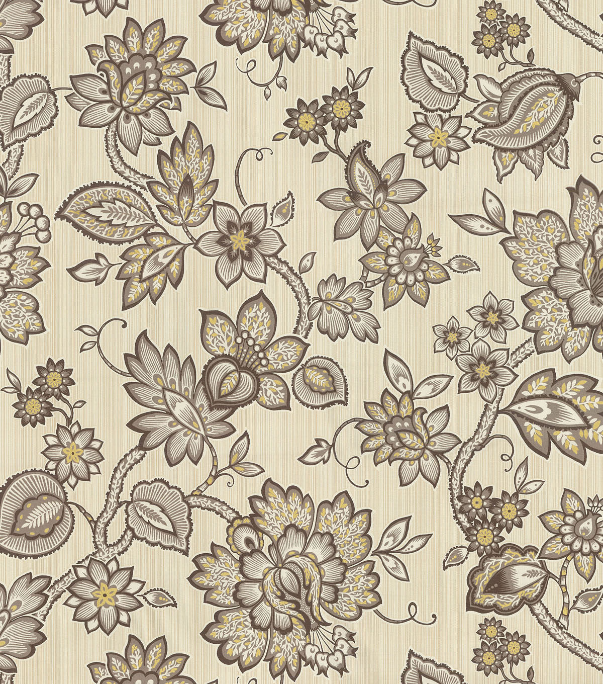 Waverly Print Fabric 54\u0022-Floral Flair/Mineral