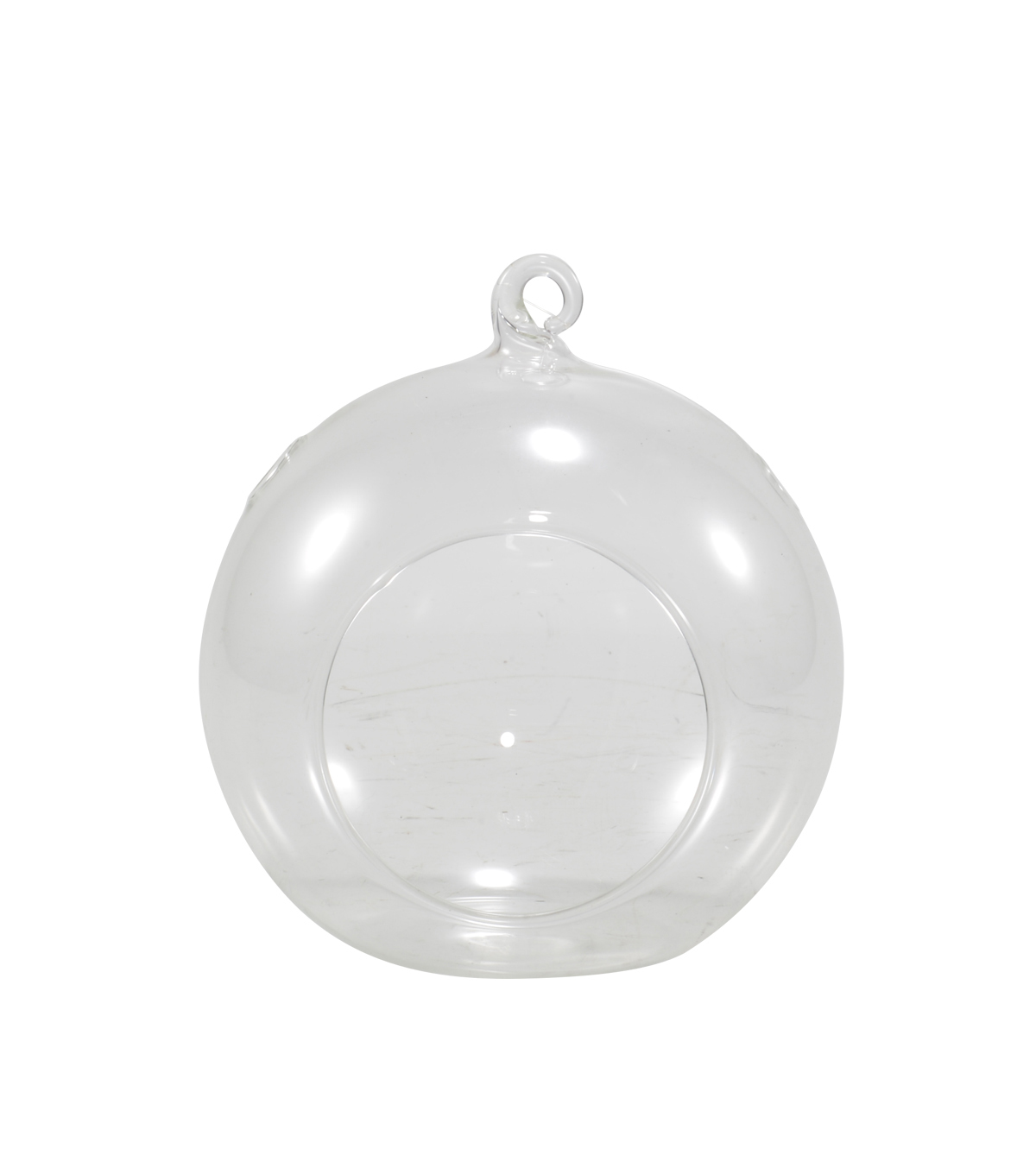Bloom Room Small Clear Glass Hanging Rooter-Round