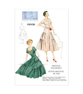 Vogue Patterns Misses Dress-V9106