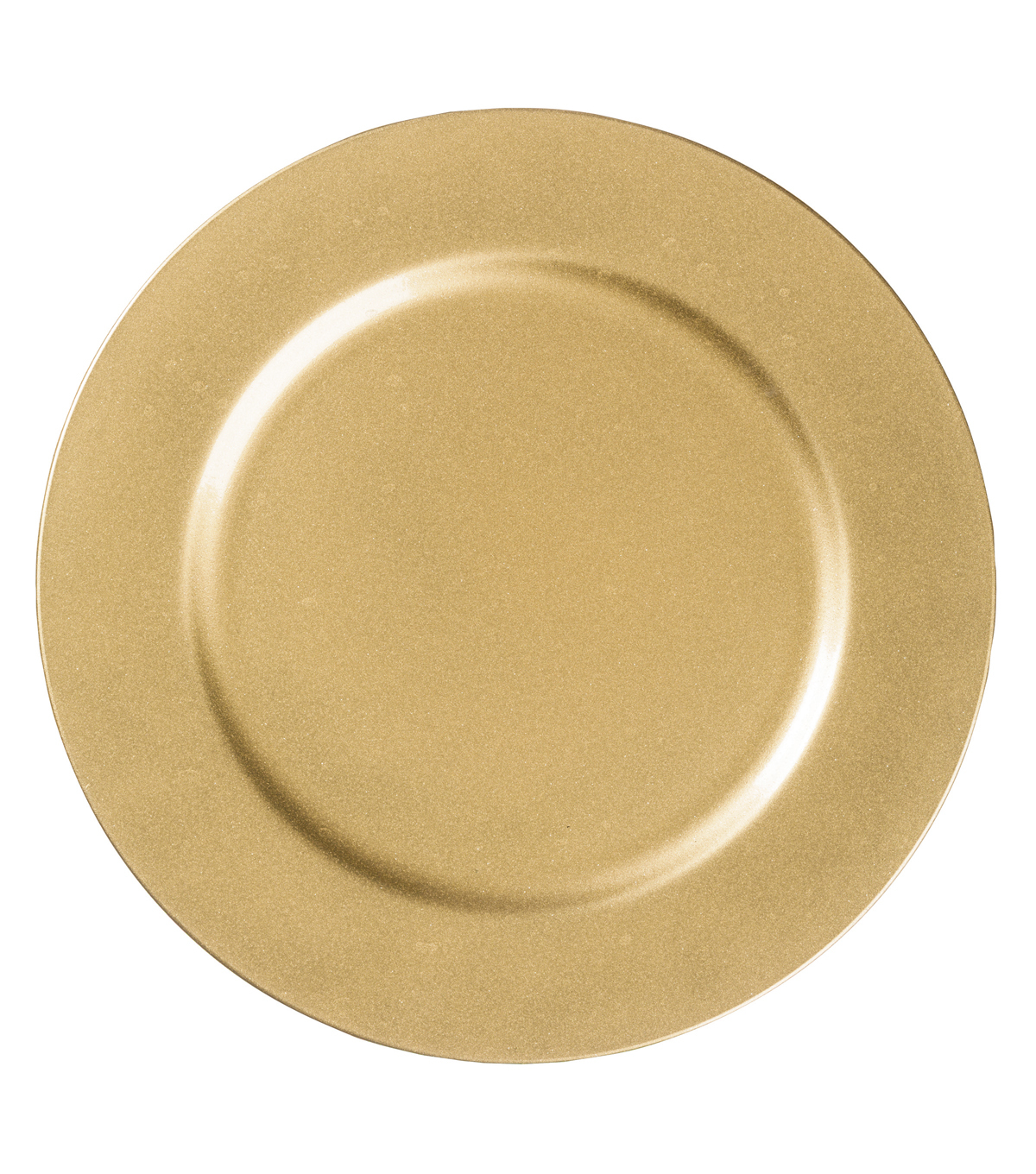 Hudson 43™ Candle & Light Collection 13\u0022 Decorative Plate-Gold