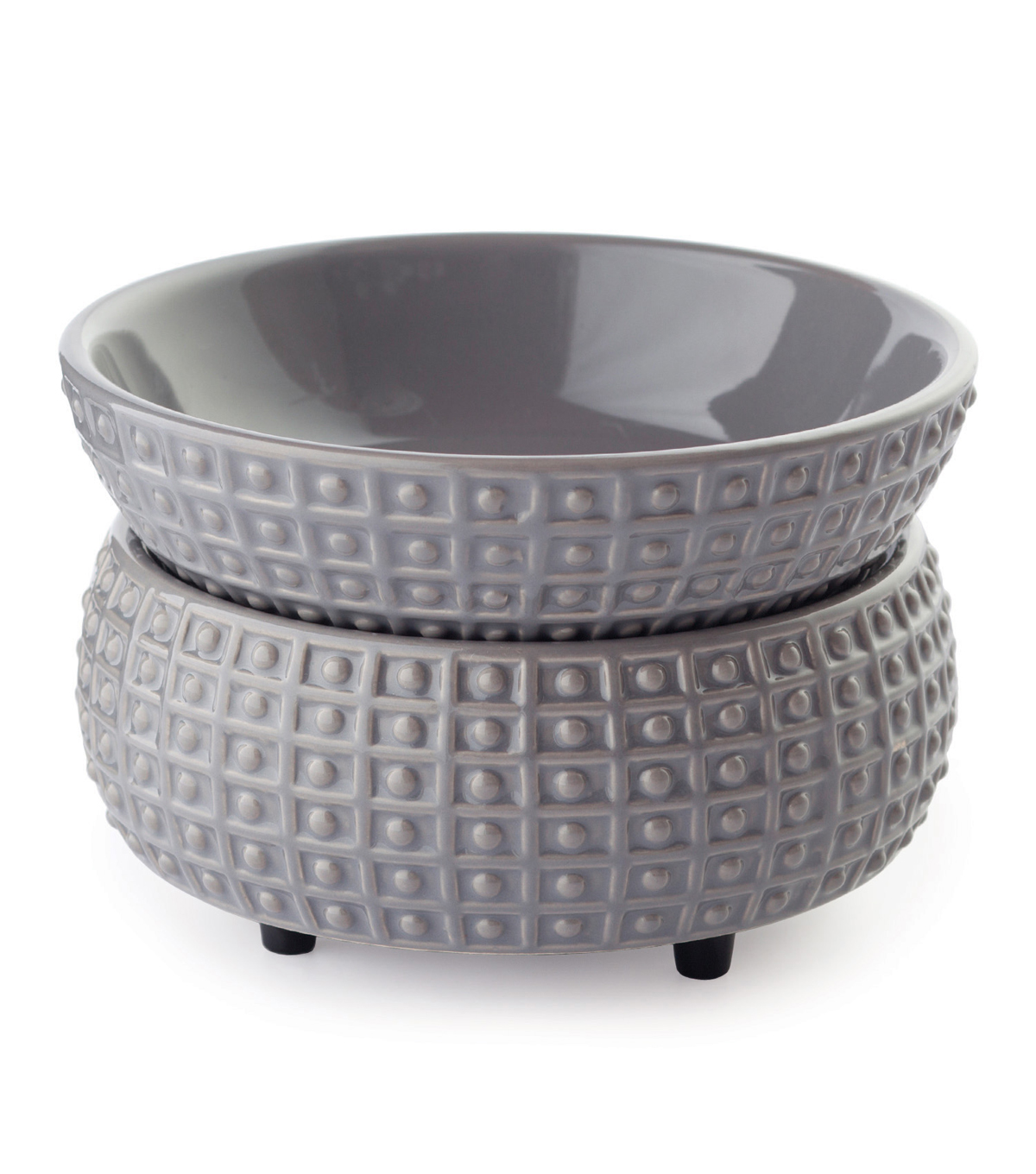 Hudson 43™ Candle & Light Collection Slate Cande Warmer And Dish