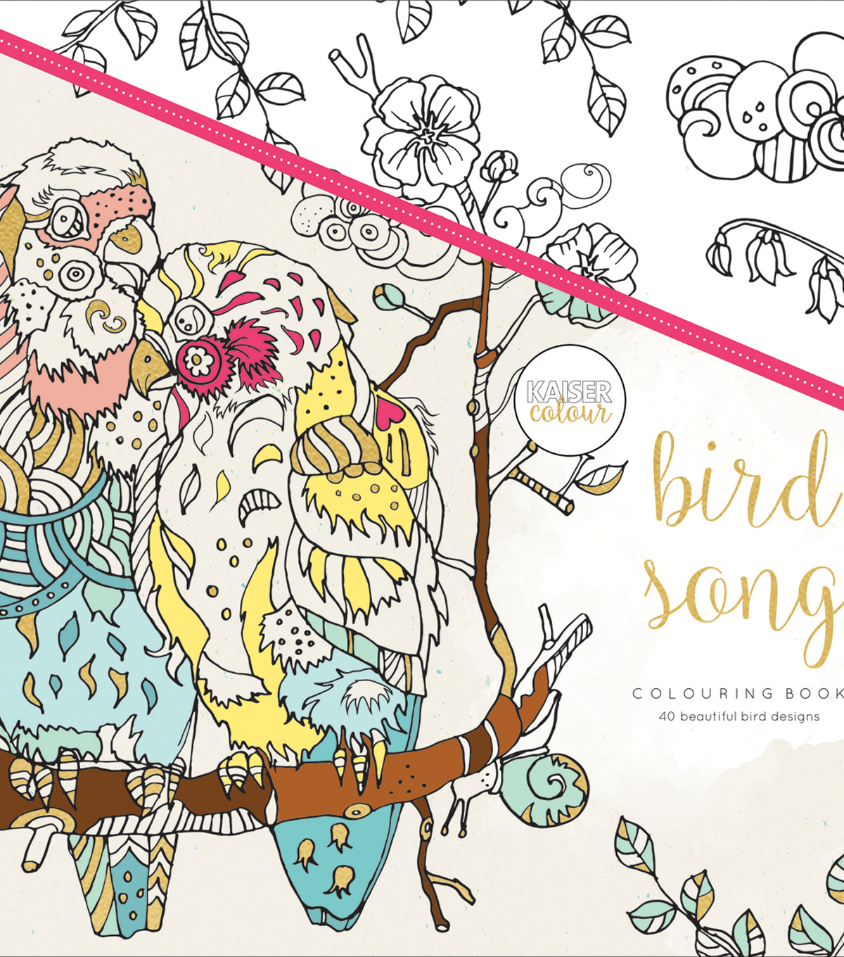 Bird Song -kaiser Coloring Book