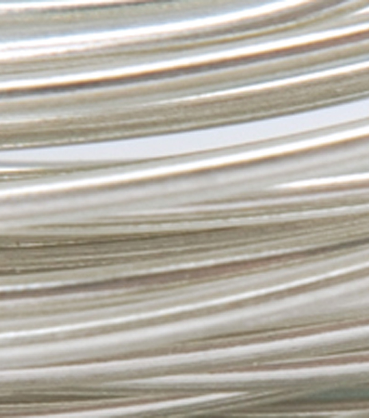 Plastic Coated Fun Wire 22 Gauge 15 Feet/Pkg-Icy Silver
