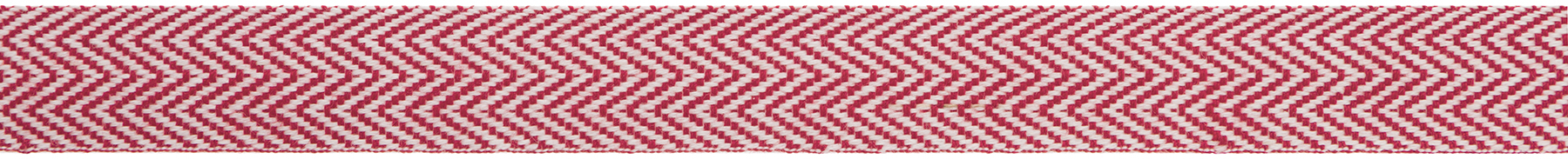 Chevron Twill Red White