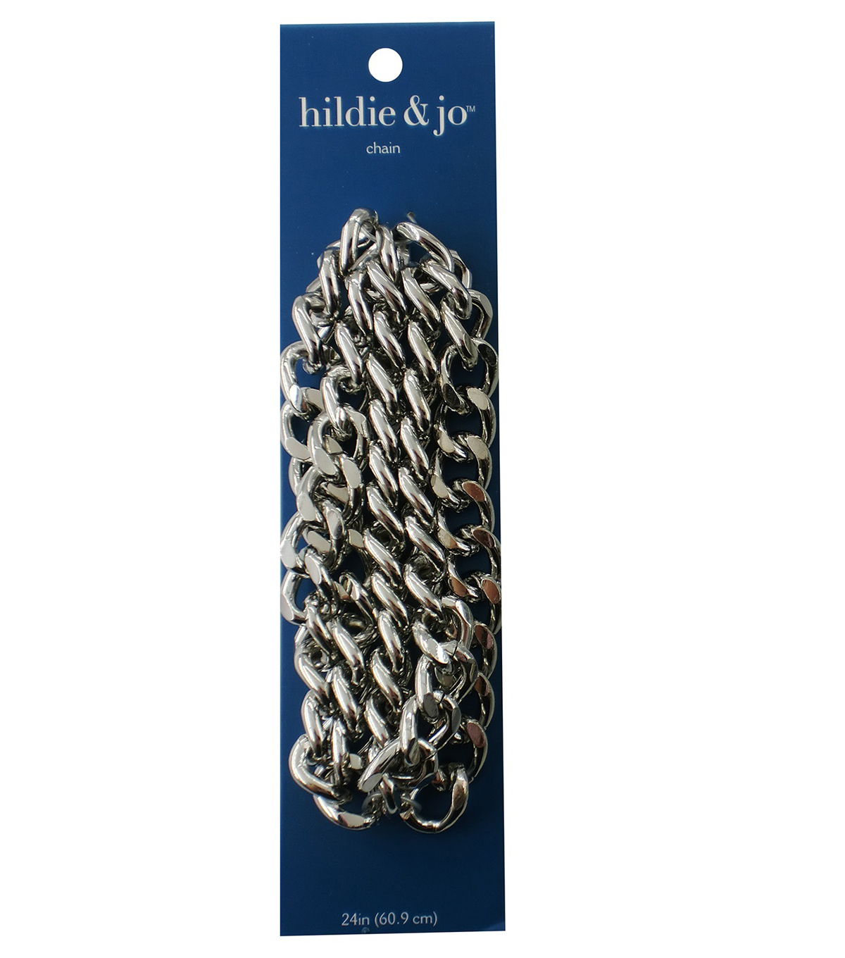 Blue Moon Beads Chain, Curb Link, Chunky/Thick, Silver