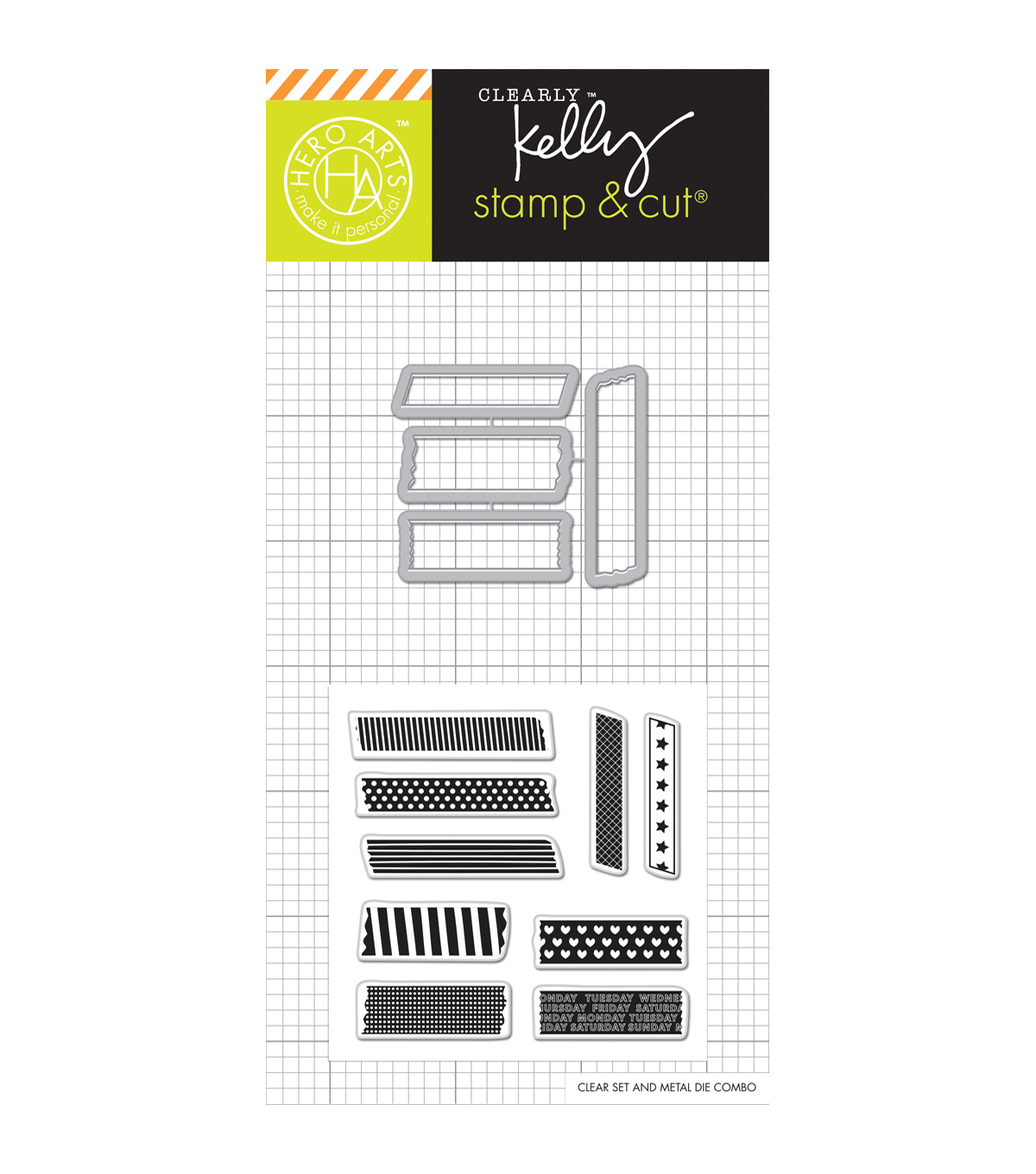 Hero Arts® Kelly's Stamp & Cut-Tape