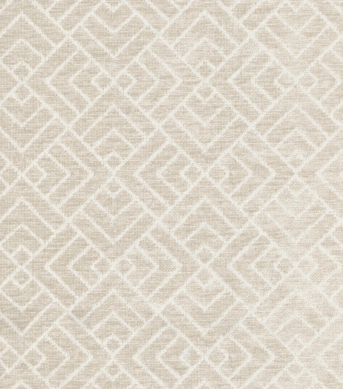 IMAN Home Upholstery Fabric 54\u0022-Tambal Lattice/Linen