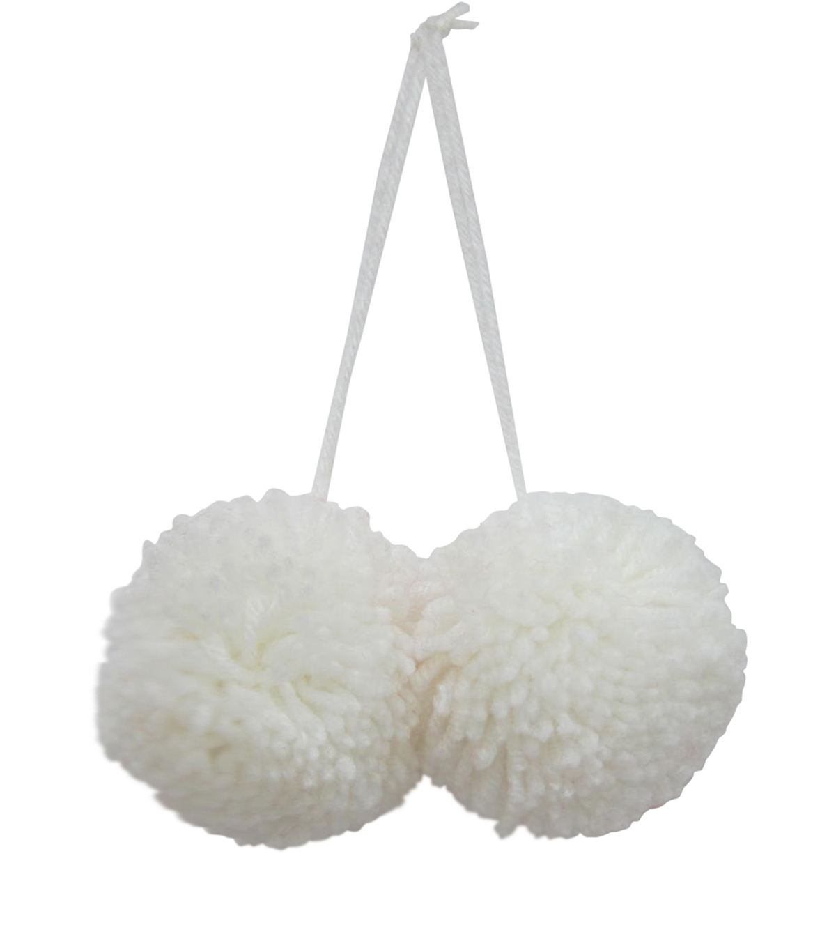 Maker\u0027s Holiday 2ct Pom Poms-White