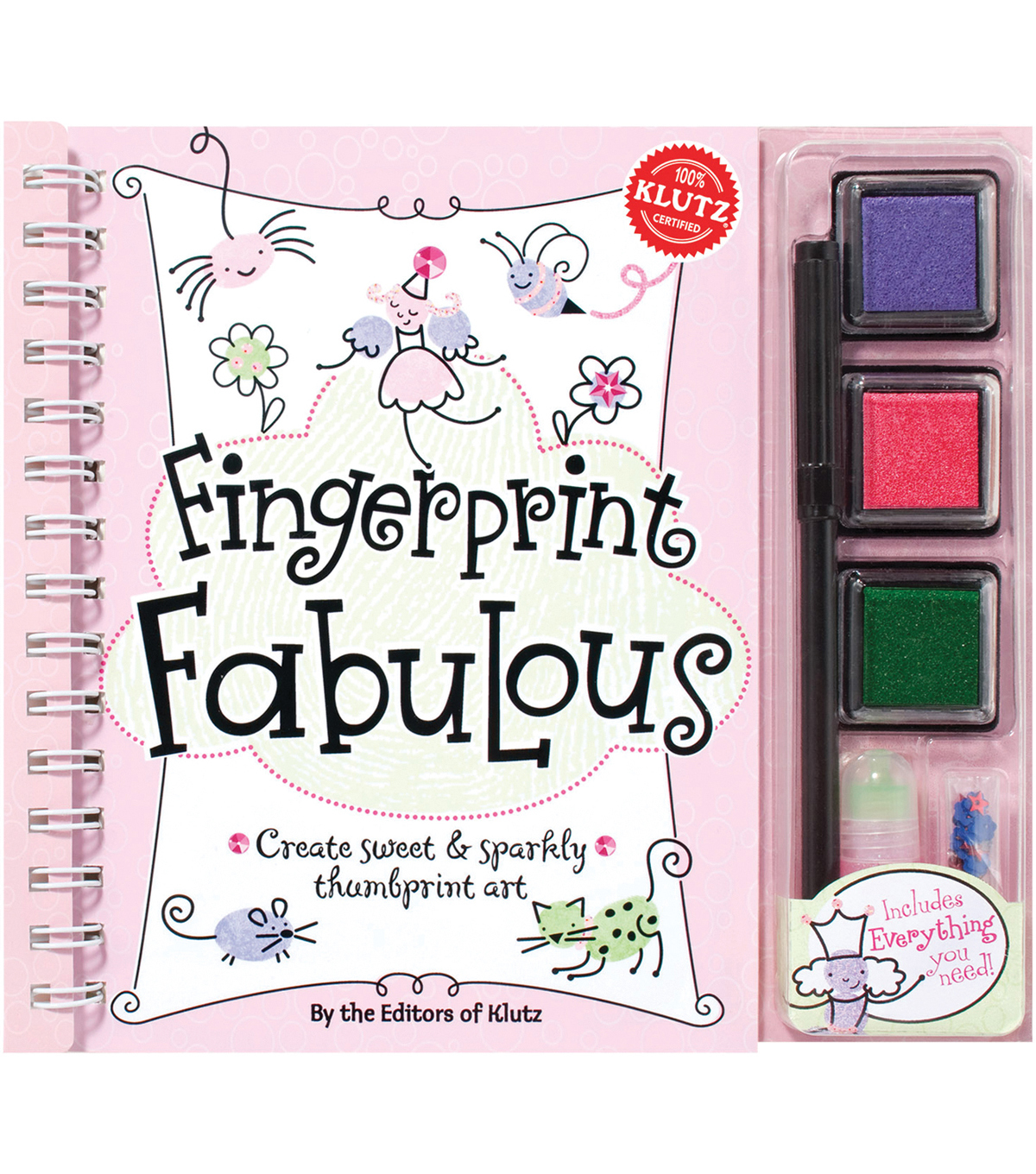 Klutz Fingerprint Fabulous Kit