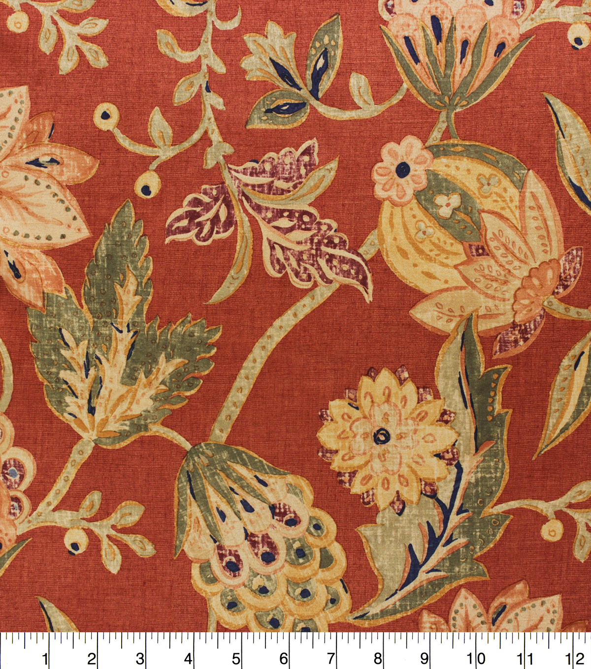 Richloom Print Fabric-Capulet Lacquer