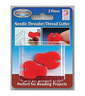 The Bead Buddy 2 pk Needle Threader with Cutter