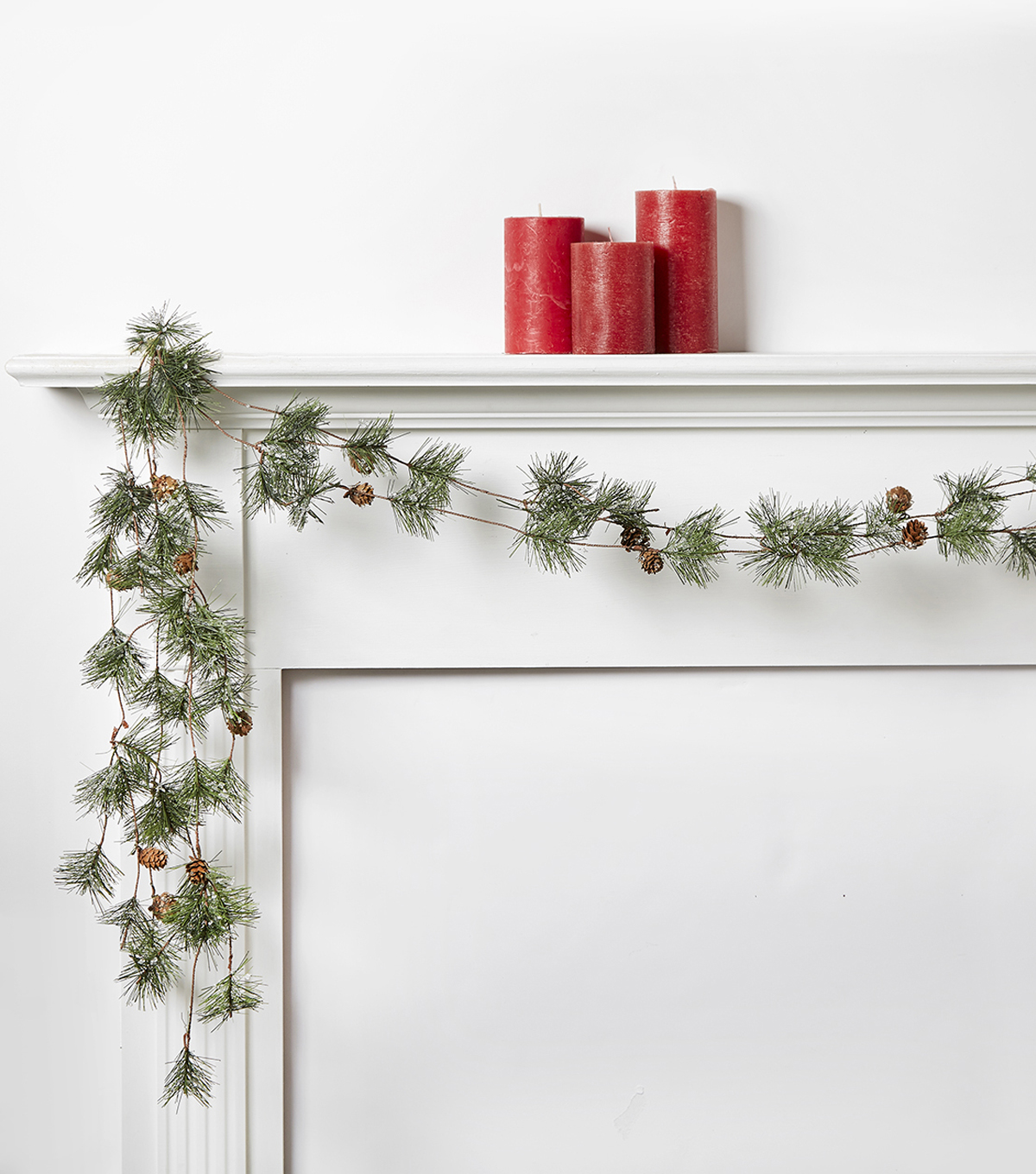 Blooming Holiday 66\u0027\u0027 Pinecone Ice Garland