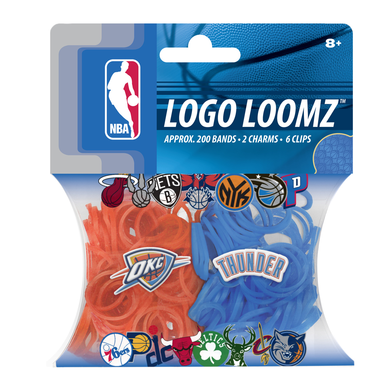 Oklahoma City Thunder Logo Loomz Filler Pack by Forever Collectibles