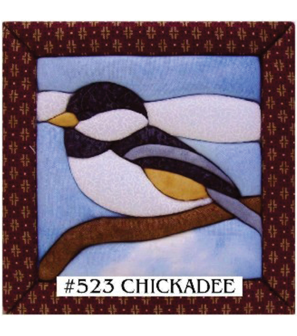 Chickadee Quilt Magic Kit-6\u0022X6\u0022