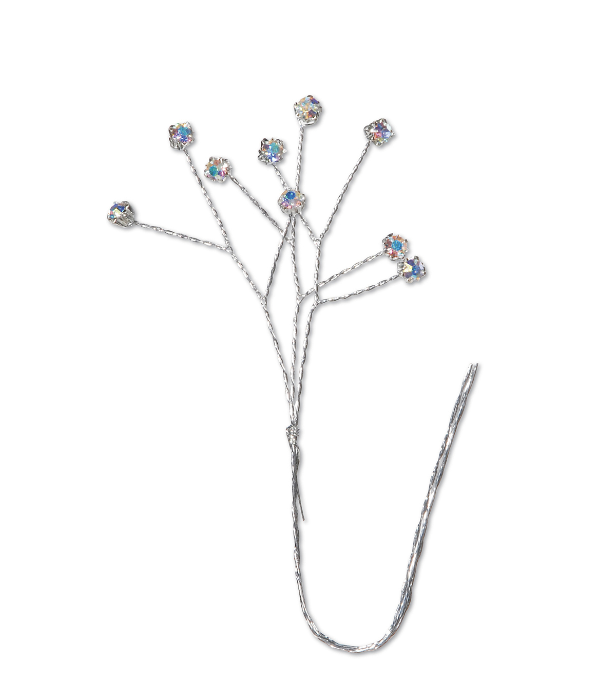 Blue Rhinestone Mini Pick