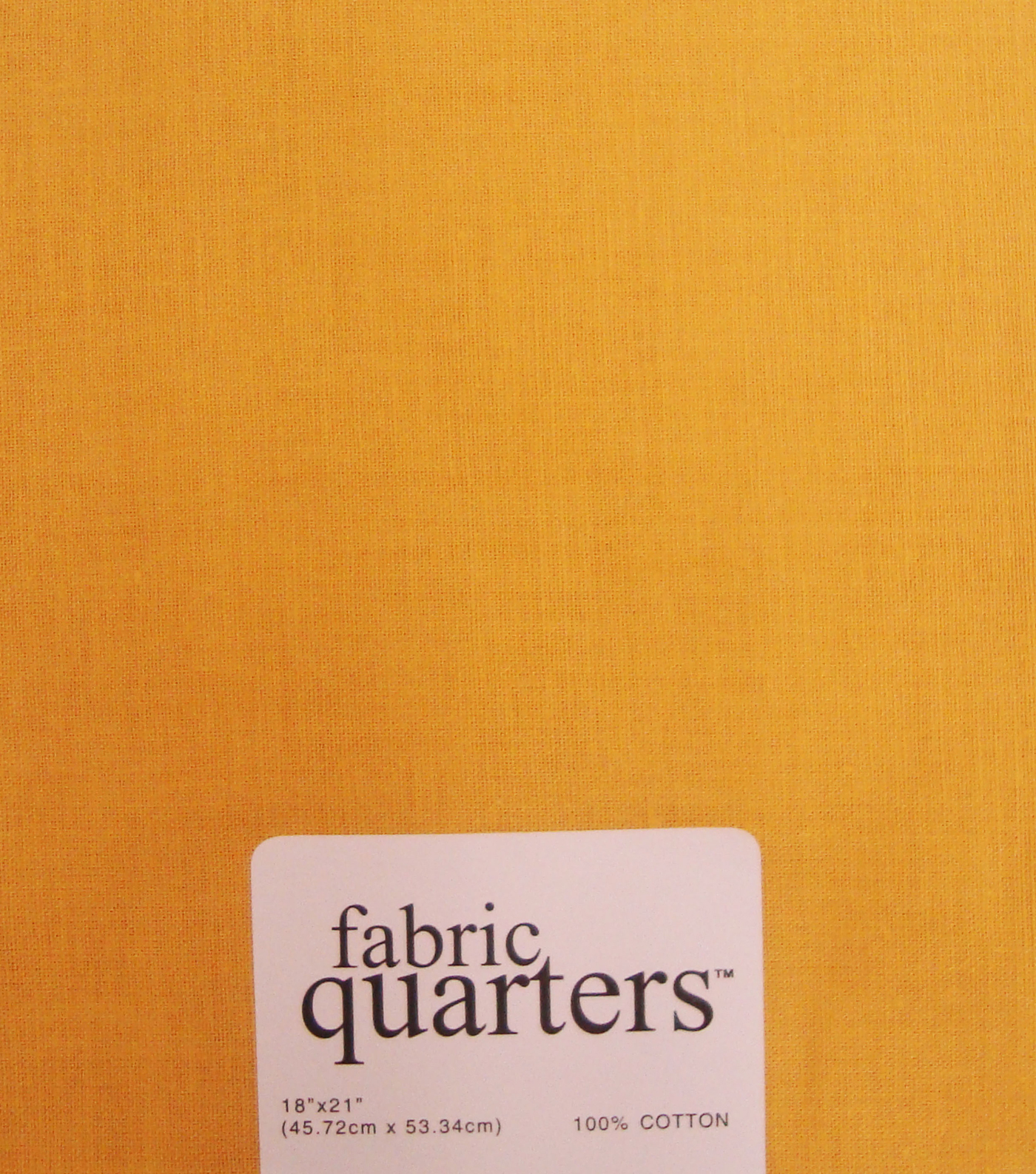 Fabric-Quarters Cotton Fabric-Solids Gold