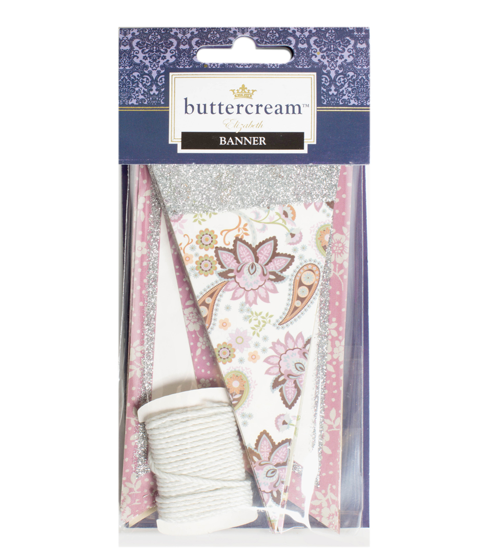 Buttercream™ Elizabeth Collection Designer Banner
