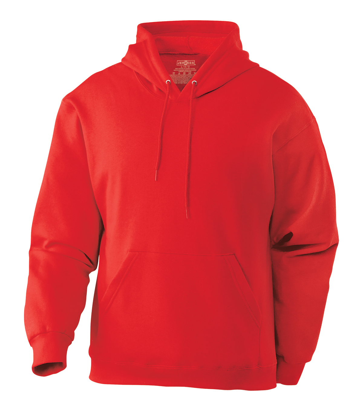 True Red Hooded Sweatshirt Xl