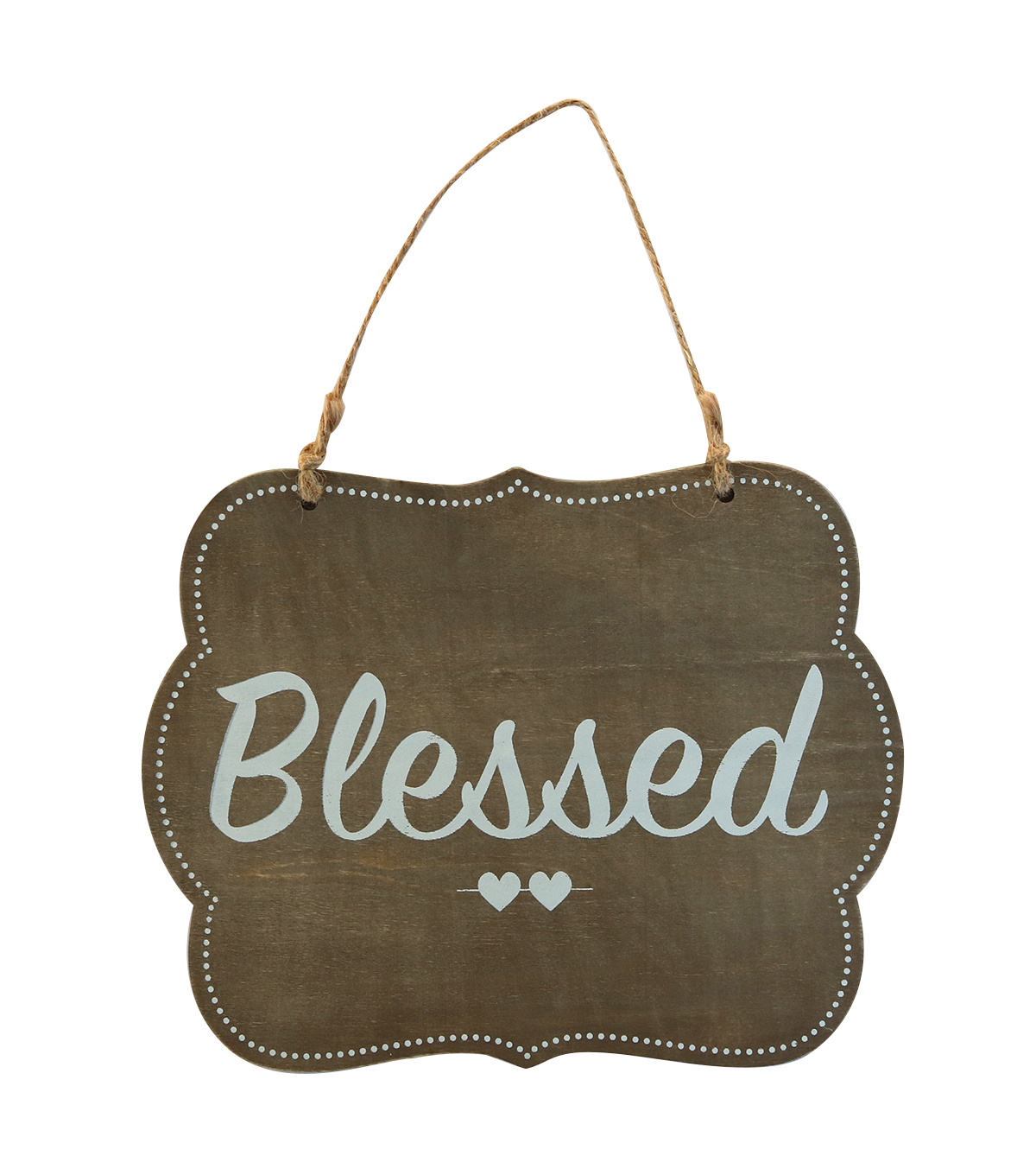 Make It Love It™ Wooden Plaque-Blessed