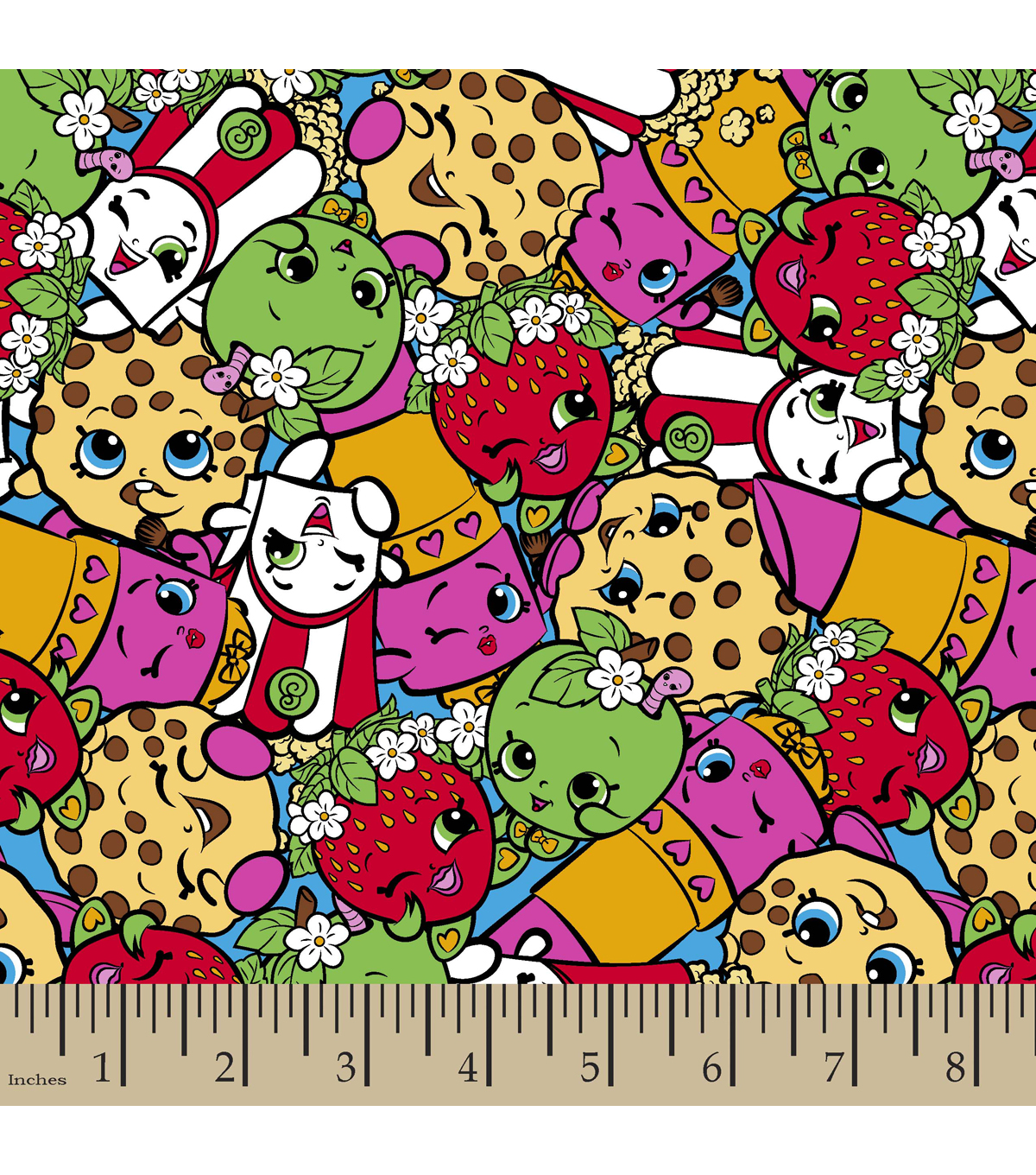 Shopkins Fleece Fabric 59\u0022-Leggings