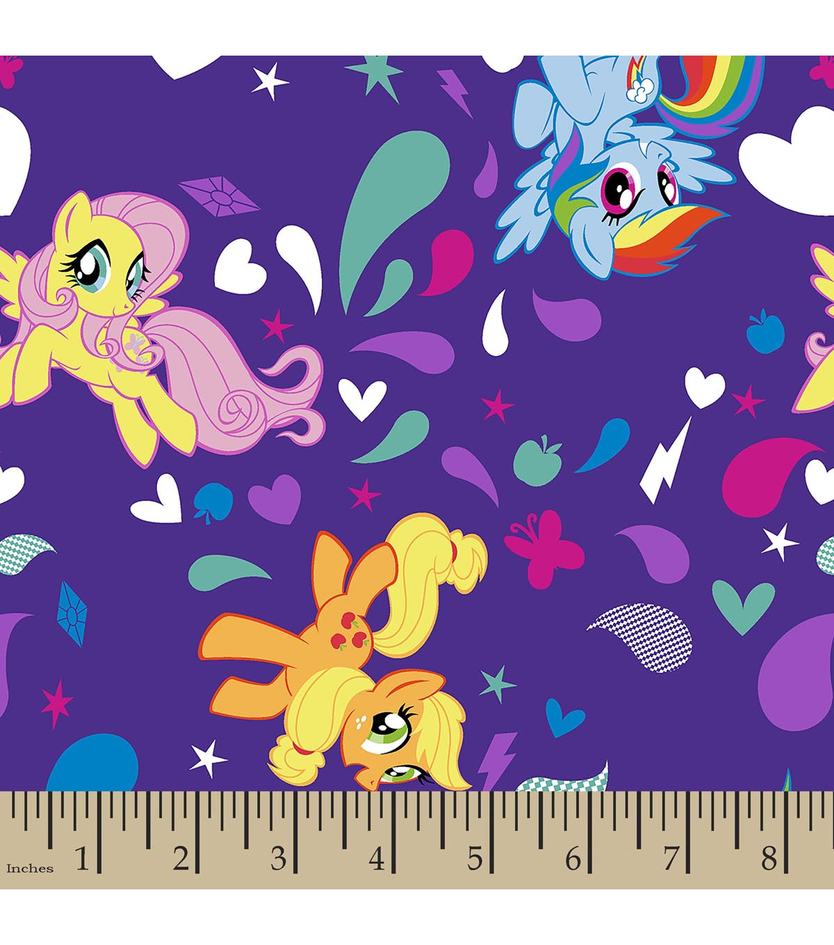 Hasbro® My Little Pony® Print Fabric-Ponies