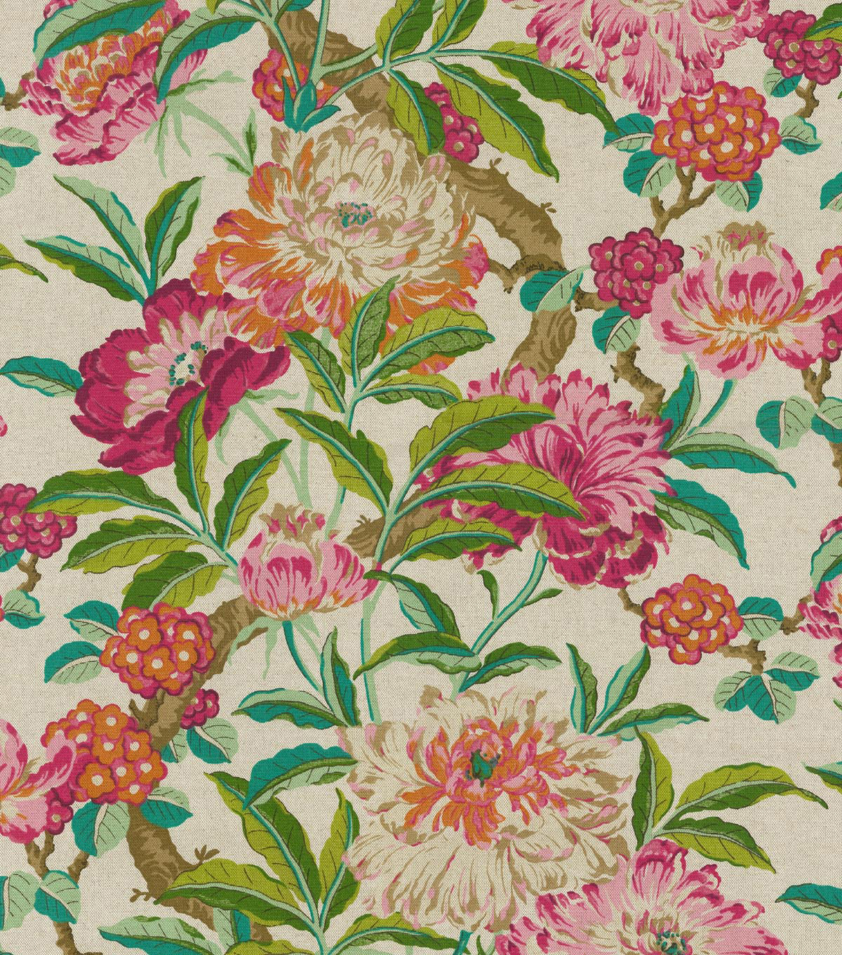 "P/Kaufmann Upholstery Fabric 54""-Royal Court Pink Blush"