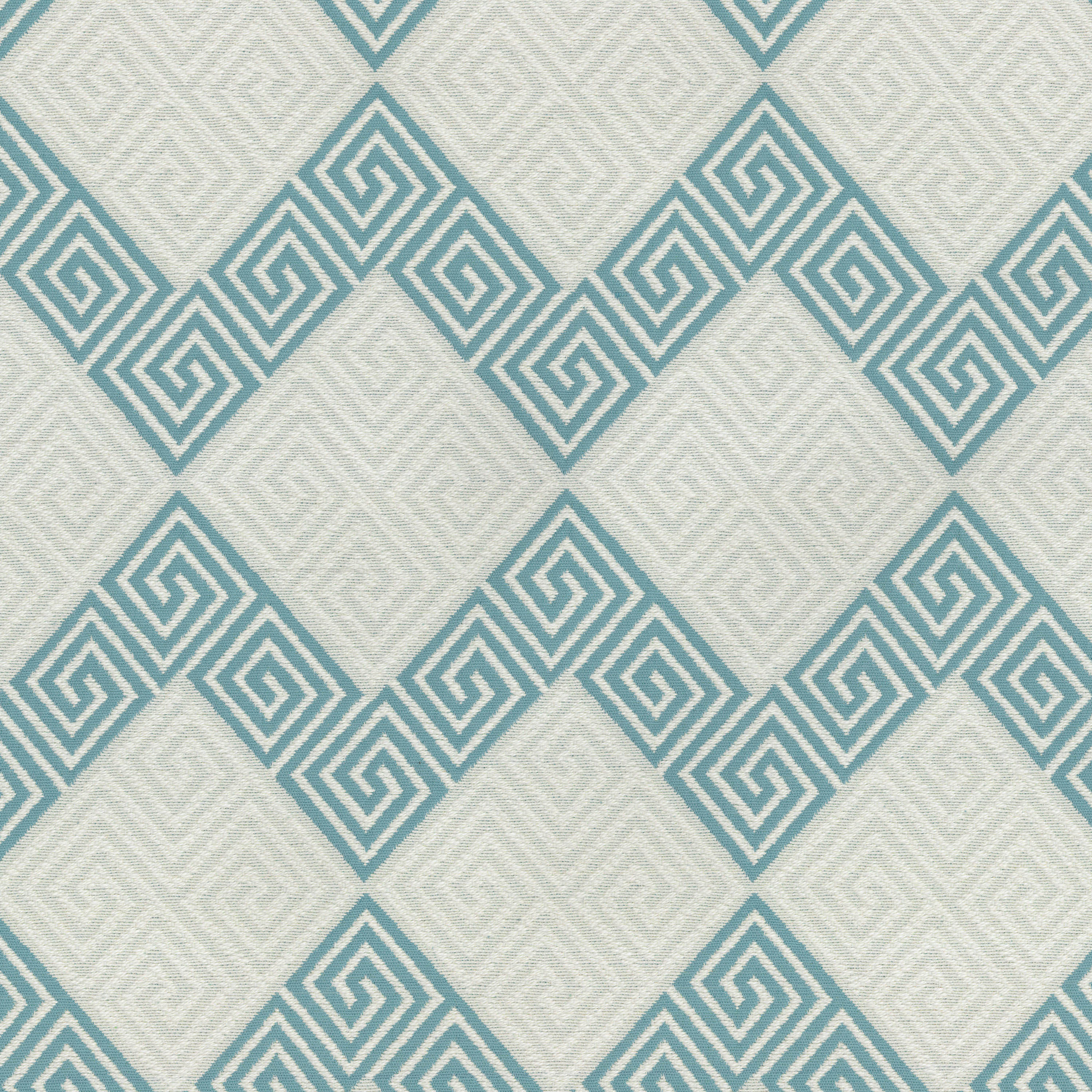 Beau Waverly Upholstery Fabric 57\u0022 On Key/Turquoise