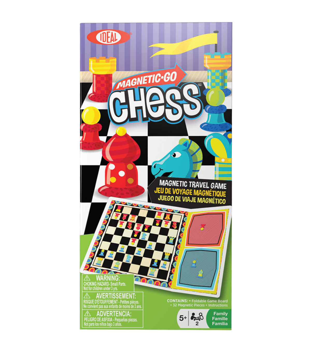 Ideal Magnetic Go Chess Travel Game
