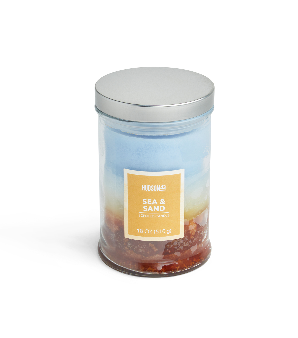 Hudson 43™ Candle & Light Collection 18oz Triple Pour Sea And Sand Jar