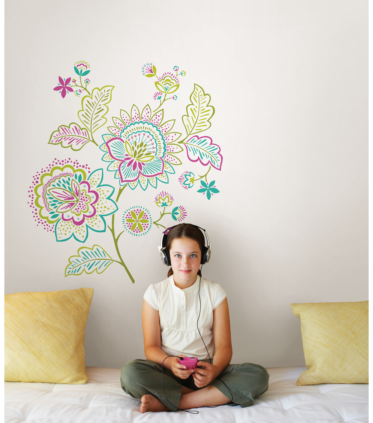 Wall Pops Delia Wall Art Decal Kit, 14 Piece Set