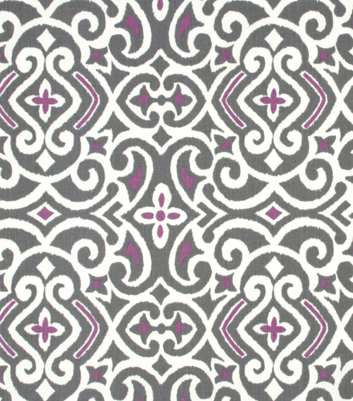 Robert Allen@Home Best Print Fabric 54\u0022-Damask Nickel