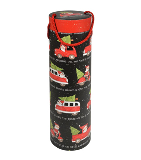Maker\u0027s Holiday Wine Tube-Xmas Truck
