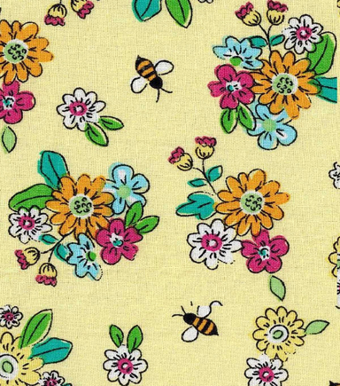 Keepsake Calico™ Cotton Fabric-Eliza Small Floral Yellow