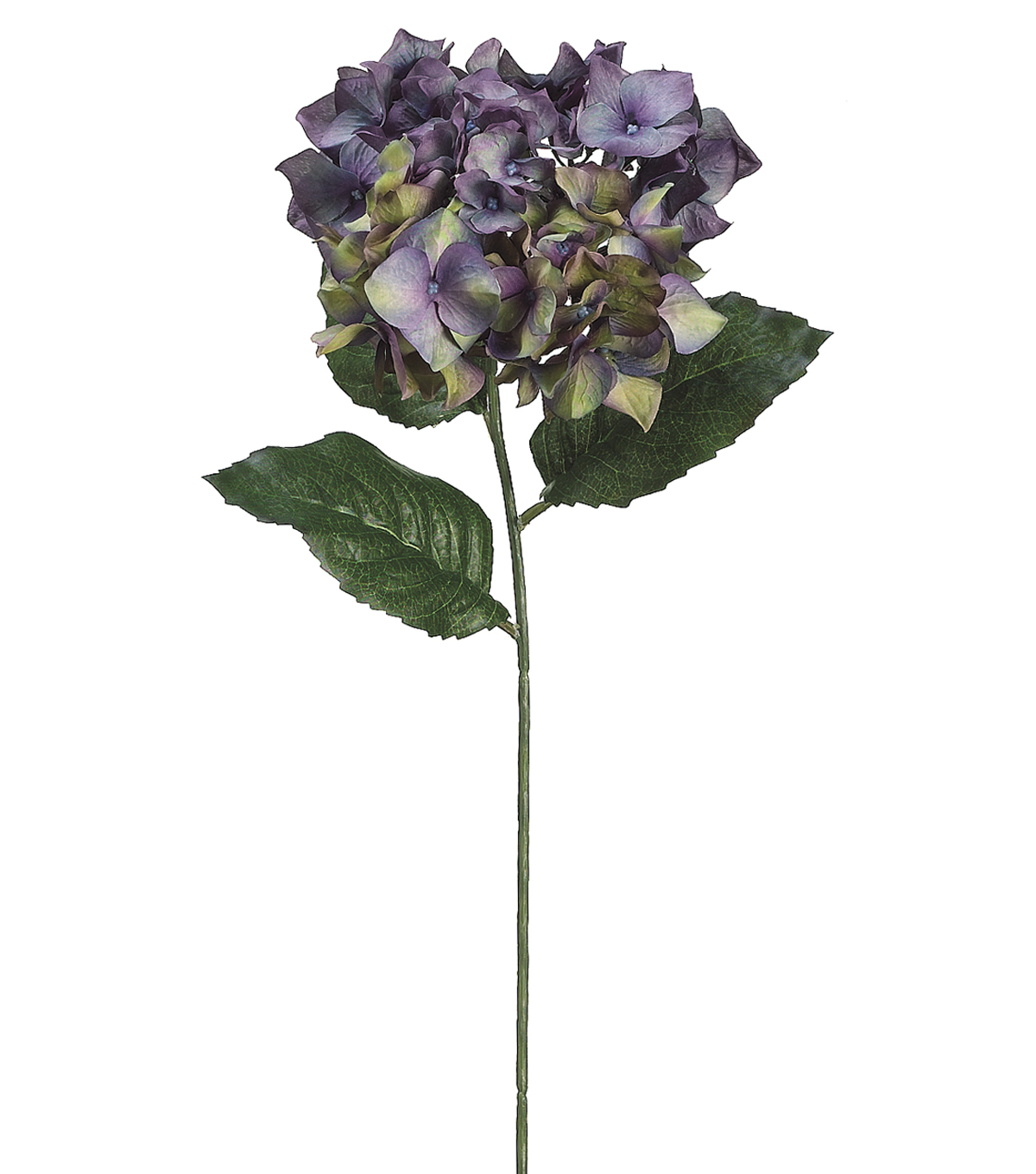 Bloom Room 30\u0022 Hydrangea Stem-Dark Purlpe