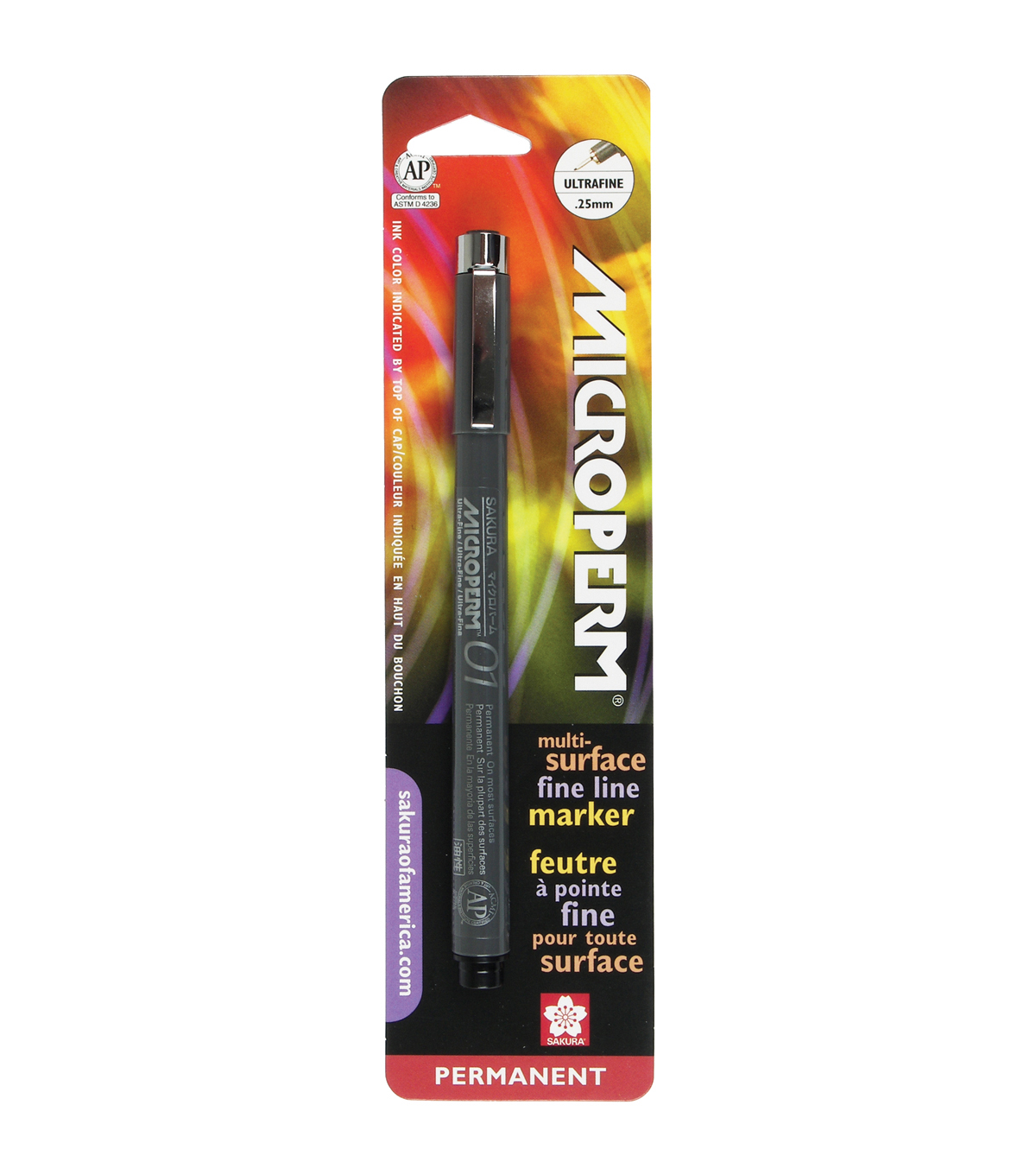 Microperm Pen 01 .25mm-Black