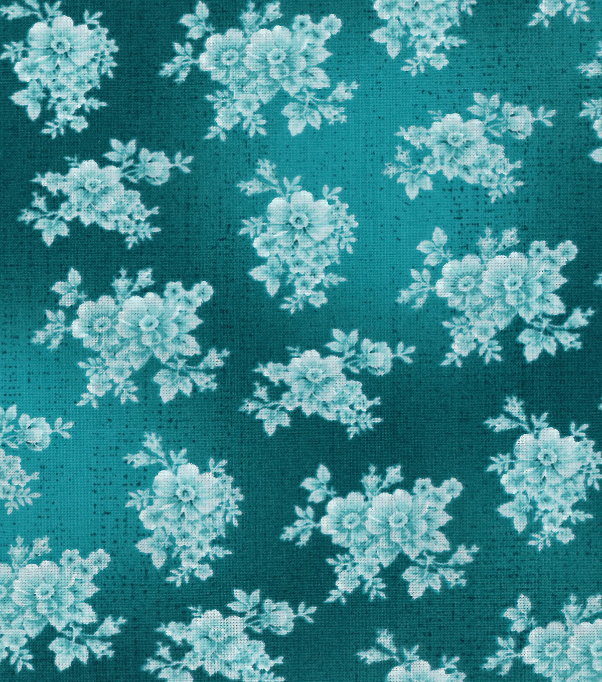 Buttercream™ Poppy Collection Cotton Fabric-Tonal Floral Green