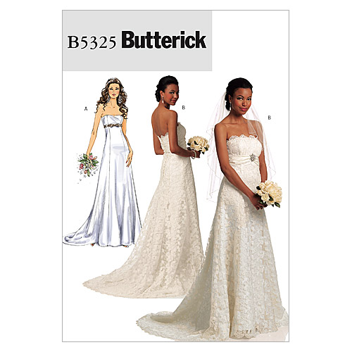 Butterick Misses Bridal-B5325